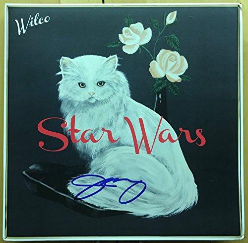 Jeff Tweedy signed Wilco Star Wars 12' lp