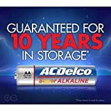 ACDelco 100-Count AA Batteries, Maximum Power Super