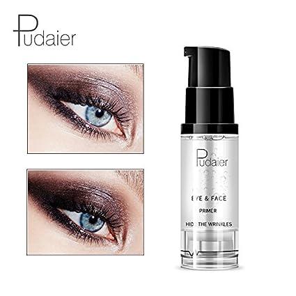 pudaier transparente maquillaje Primer Gel diseño atractivo impermeable humectante fácil de llevar los ojos cara primer