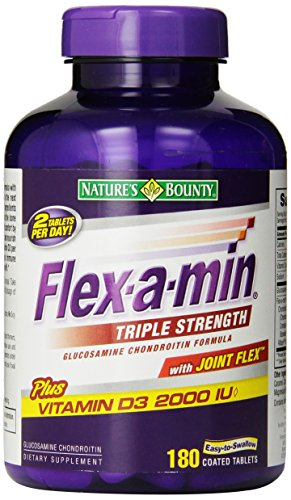 Nature's Bounty Flex-A-Min Triple Strength, 180-Count Box by Nature's Bounty