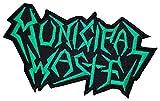 : Municipal Waste Thrash Metal Band Logo t Shirts MM46 Sew Iron on Patches
