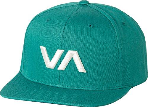 rvca-mens-va-snapback-ii-hat-dark-aqua-one-size