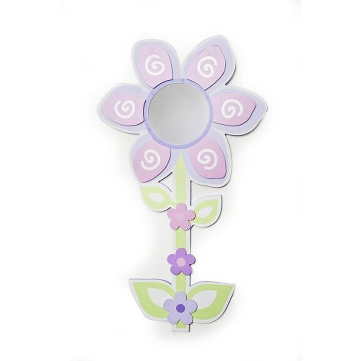 Babies''R''Us Mirror Baby Girl Flower Wall Decor Pink by Babies R Us