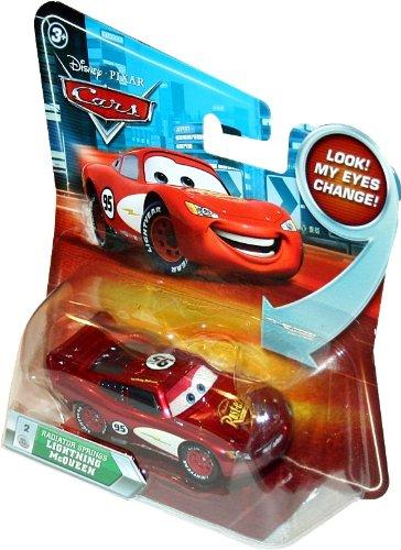 RADIATOR SPRINGS LIGHTNING MCQUEEN #2 w/ Lenticular Eyes Disney / Pixar CARS ... by Unknown