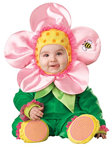 [UHC Girl's Blossom Infant Toddler Lil Flower Theme Fancy Dress Child Costume, 12-18M] (Baby Blossom Costume)