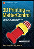 img - for 3D Printing with MatterControl book / textbook / text book