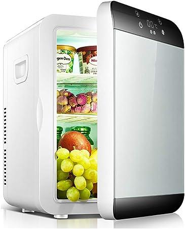 Noir Mini Réfrigérateur Congélateur Réfrigérateur Refroidisseur Petit Compact Bureau Stockage Des Aliments