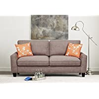 Serta Deep Seating Astoria 78 Sofa in Concord Tan