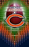 Turner Chicago Bears Memo Book, 3 Pack