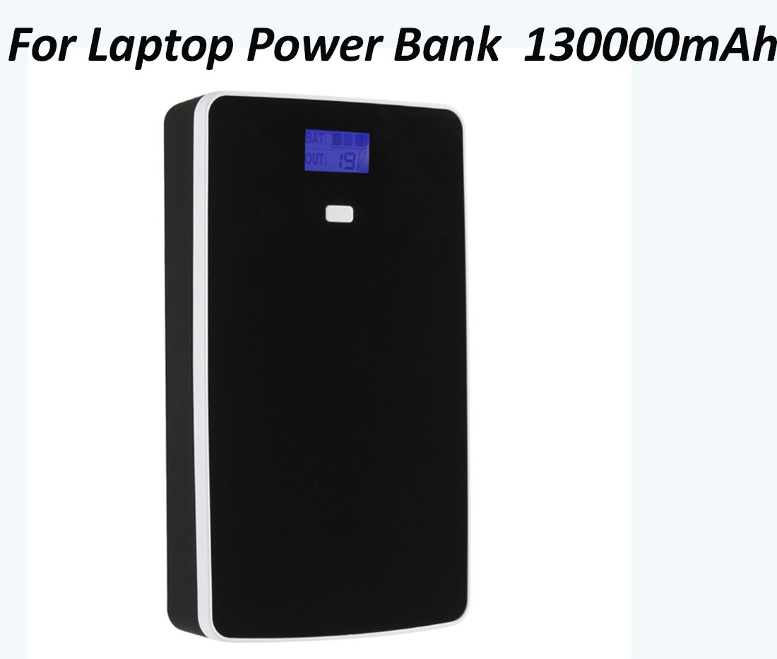 Laptop Power Bank 130000mAH Portable Charger External Battery for Tablet& Notebook–Most of Sony Dell Hp Toshiba Samsung Lenovo Acer IBM NEC Mobile 5/7/9/12/14/16/19v (not for Apple Laptop)