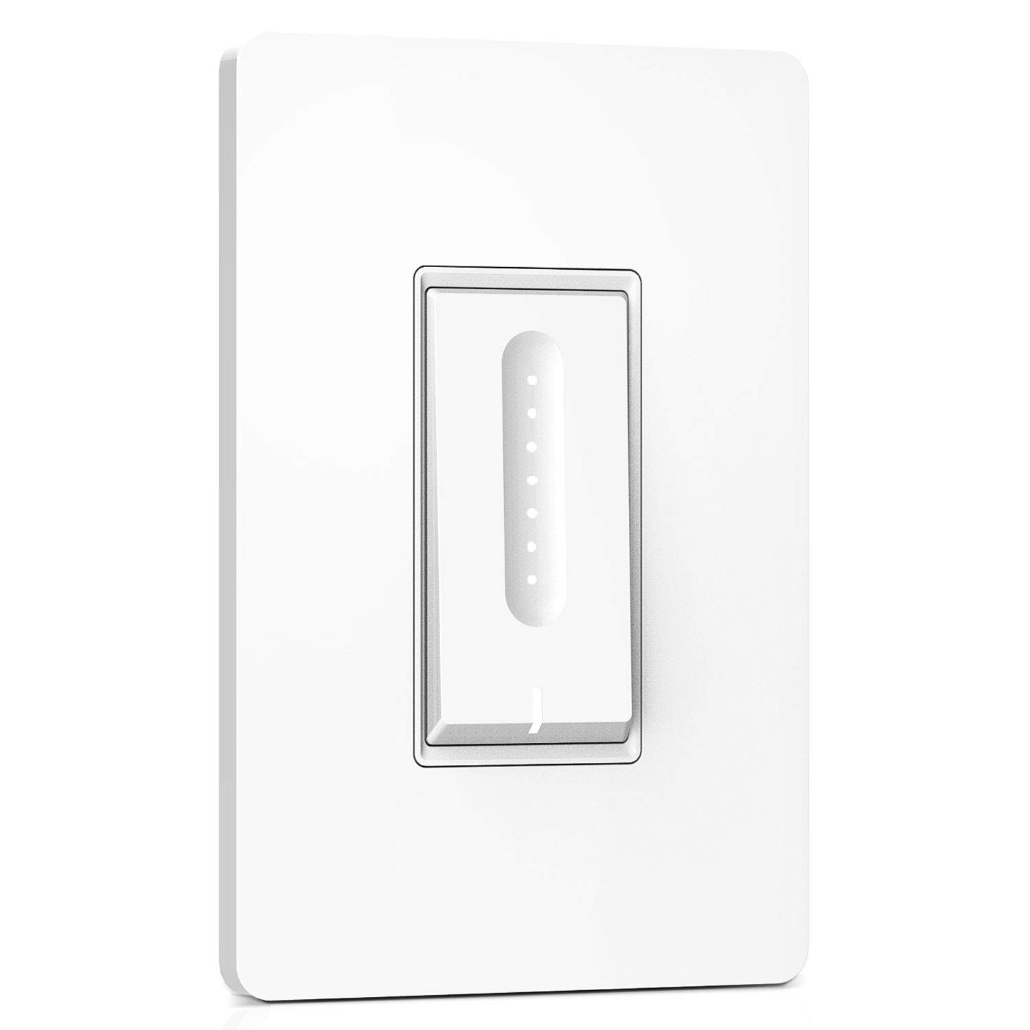 Smart Dimmer Switch, Treatlife WiFi Light Switch for Dimmable LED, Halogen and Incandescent Bulbs, Compatible with Alexa, Google Assistant and IFTTT, Remote Control, Single-Pole, Neutral Wire Required