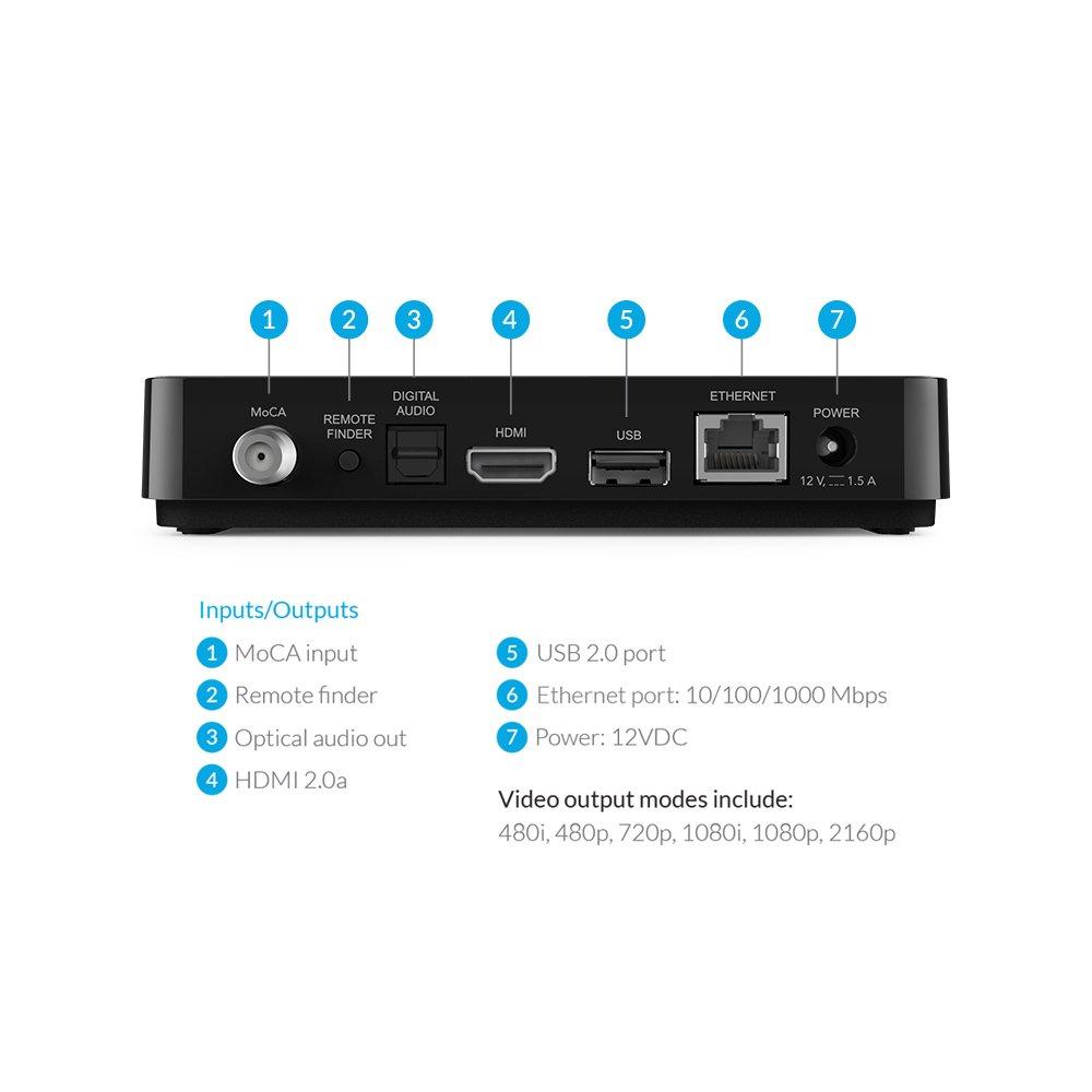 amazon com tivo mini vox streaming media player 4k uhd with voice rh amazon com