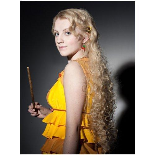 Evanna Lynch 8x10 photo Harry Potter It Don't Come Easy portrait shot - Potter Portrait