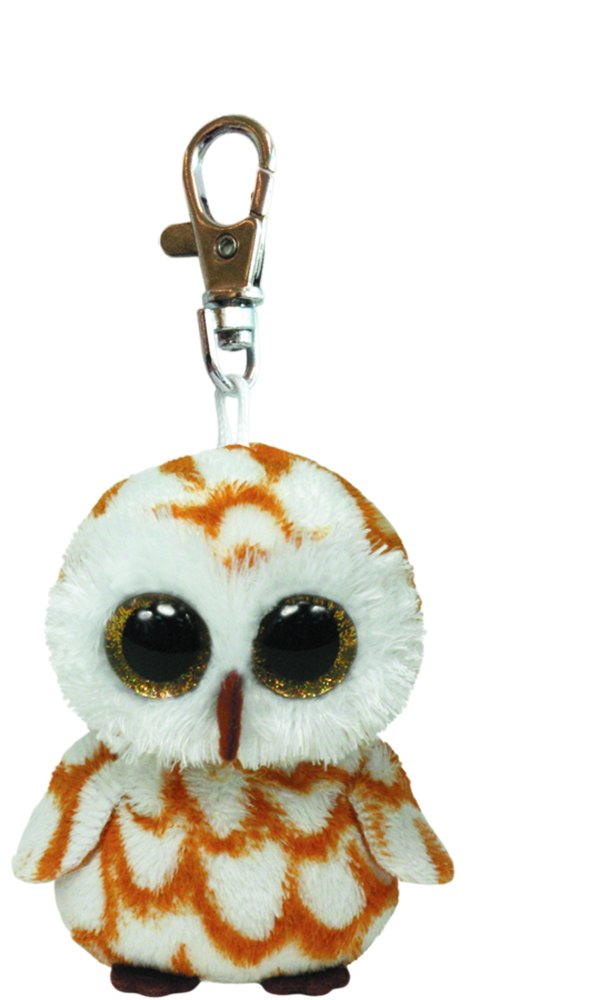 Ty Beanie Boos Swoops - Brown Owl Clip