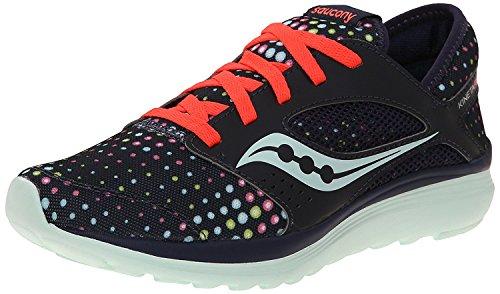 Saucony Women's Kineta Relay Running Shoe, Navy/Dots, 35.5 B(M) EU/3 B(M) UK