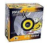 "4) Pyle PLG64 6.5"" 1200 Watt Car Mid"