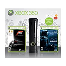 Xbox 360 Elite 120GB with Forza 3 and Halo 3 ODST