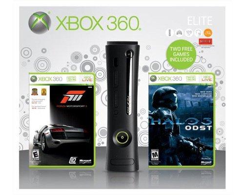 Halo 3 Xbox 360 Headset (Xbox 360 Elite 120GB with Forza 3 and Halo 3)