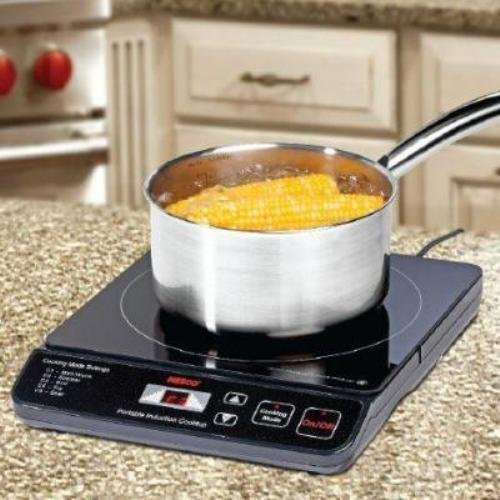 Nesco Portable Cook Top 10 in Black Travel Hot Plate