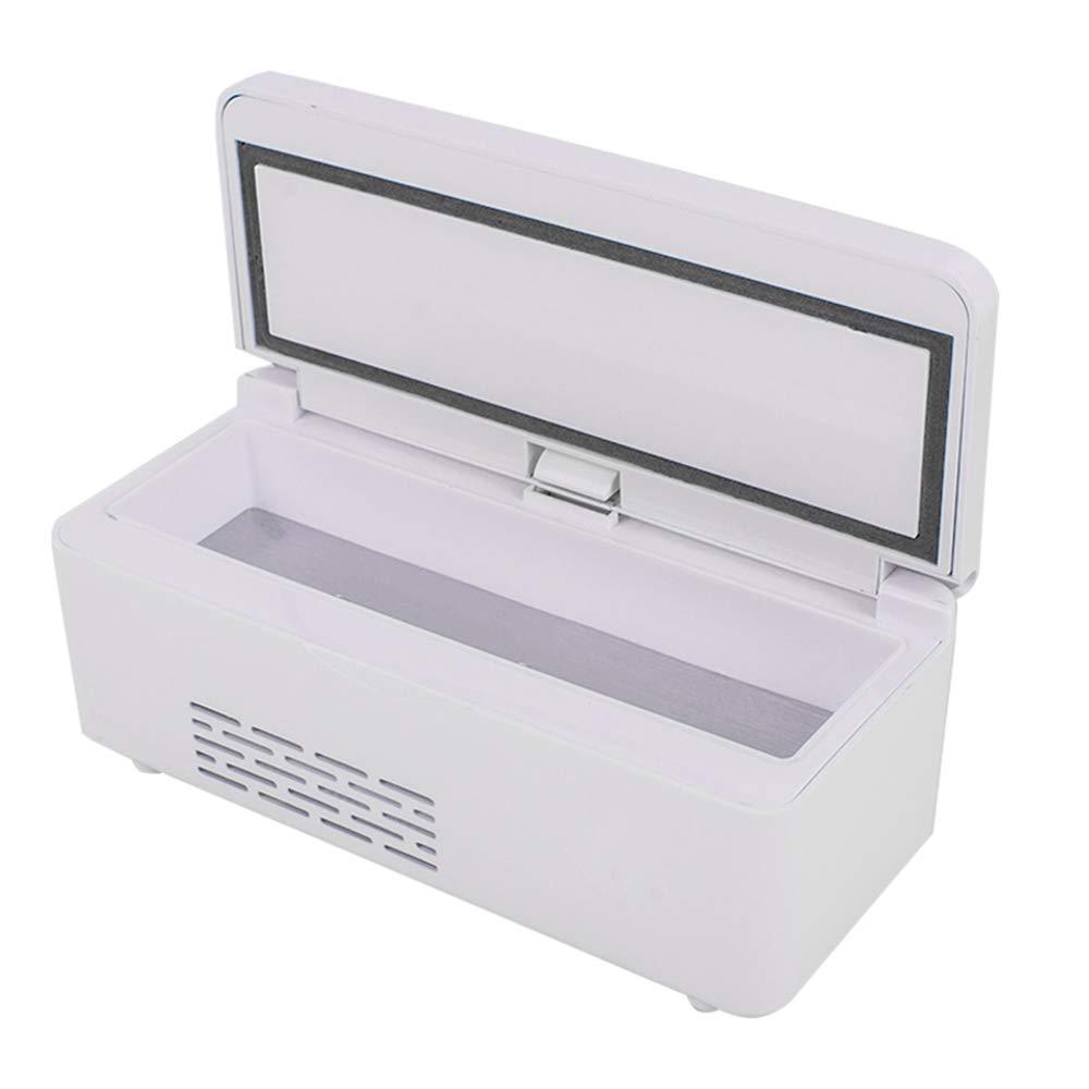 Pevor Portable Insulin Cooler Box Insulin Reefer Mini Drug Constant Temperature Refrigerator 2-8℃