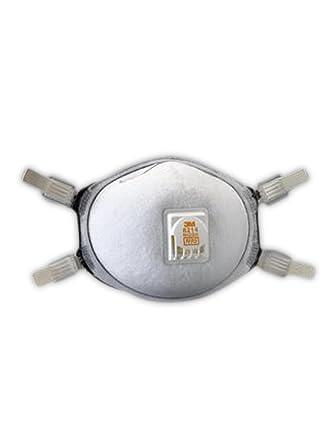 3M 50051138661927 8212 N95 - Respirador para soldar partículas (con sellado facial, 80/