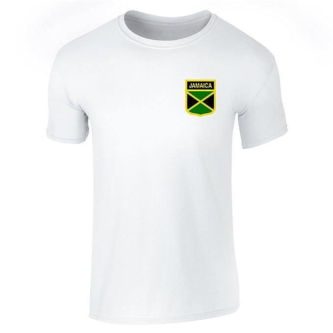 Jamaica Soccer camiseta retro de fútbol nacional equipo camiseta de mangas cortas de Pop