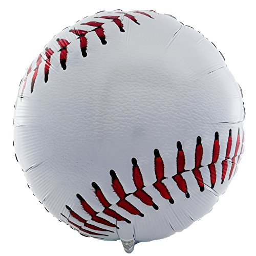 Baseball Birthday Party Supplies 2 Pack foil Balloons ()