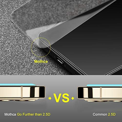 2 Pack Mothca Matte Screen Protector for iPhone 12 Pro/12 Anti-Glare & Anti-Fingerprint Tempered Glass Clear Film Case Friendly Easy Install Bubble Free for iPhone 12/12 Pro 6.1-inch (2020)-Smooth as Silk