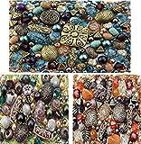 3 x Packs of Adults Acrylic Jewelry Making Mixed Beads