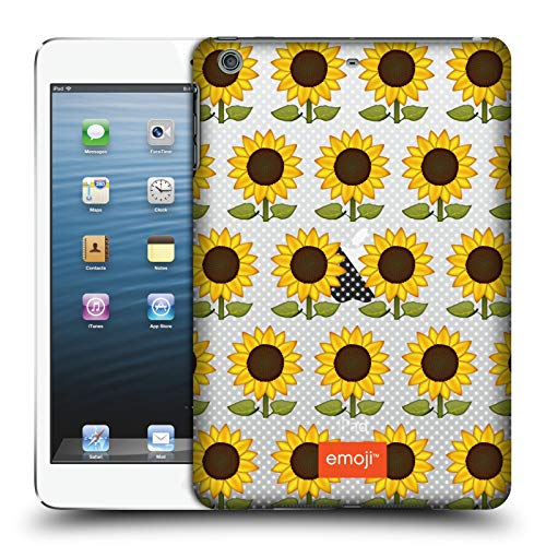 Official Emoji Sunflowers Wild Collection Hard Back Case Compatible for iPad Mini 1 / Mini 2 / Mini 3