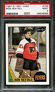 1987 O-pee-chee #169 Ron Hextall Rc Flyers Psa 9 H2542602-089