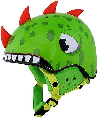 CJW Dinosaur Model Ski Helmet - Deportes al Aire Libre for ...