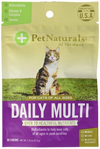 Daily Multi for Cats, Multivitamin Formula, 30 Bite Sized Chews