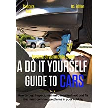Become an automobile expert  A do it yourself guide to cars 1st Edition: How to buy, inspect, maintain, troubleshoot and fix the most common problems in your vehicle