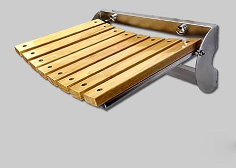 Zjm bath chair panca pieghevole per parete doccia sedile sedia da