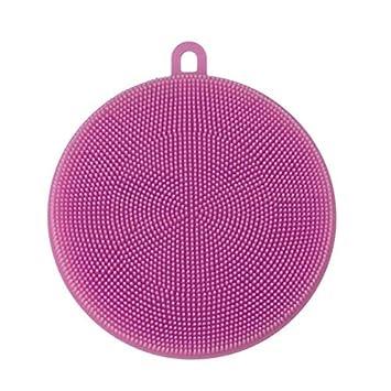 Cepillo de limpieza - 2019 4 piezas de esponja de silicona para lavar platos, limpieza de cocina, herramienta antibacteriana, robot aspirador, ...