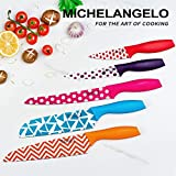 MICHELANGELO Kitchen Knife Set 10 Piece, Knife Sets