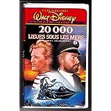20000 Lieues Sous Les Mers, Walt Disney, Collection Aventures Fantastiques (EN FRANÇAIS, FILM VHS, NTSC).