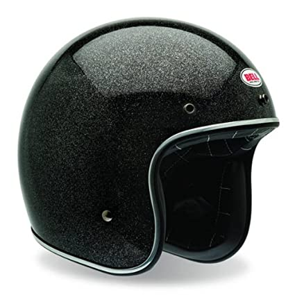 Bell Flake Limited Edition Custom 500 Harley Motorcycle Helmet - Black /  X-Large