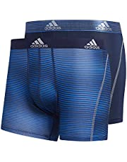 adidas Men's Sport Performance Mesh Trunks Underwear (2-Pack)