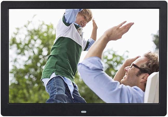 WW&C - Marco de Fotos con Pantalla IPS de 13 Pulgadas 1920 x 1080, Fondo de música 1080P Video USB Solt Compatible con Sensor de Movimiento, Mando a Distancia: Amazon.es: Hogar