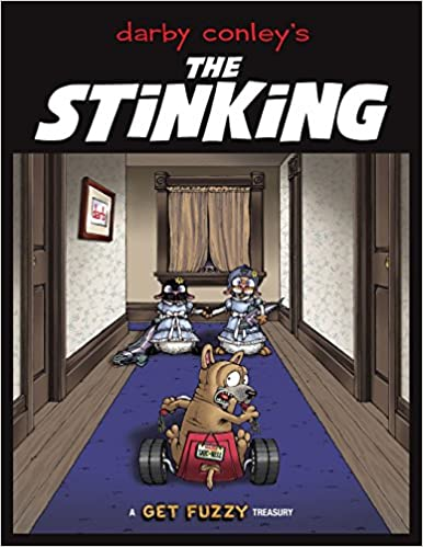 the stinking a get fuzzy treasury darby conley 9781449427986