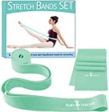 Ballet Stretch Band and Exercise Resistance Band Set for Dance - 2 Dance Stretch Bands Kit Bundle