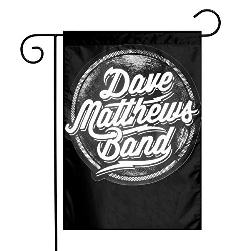 Dave Matthews Band Garden Flag Decorative Flags for Outdoors Best for Party Yard and Home Outdoor Decor - 12x18 -