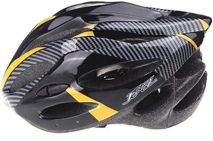 Andoer Casco de ciclismo de fibra de carbono para adultos con ...