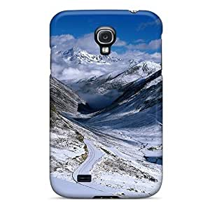 New Fashionable AnnetteL CRmDxWh2086fERTp Cover Case Specially Made For Galaxy S4(winter)