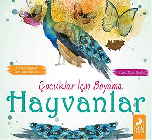 Cocuklar Icin Boyama Hayvanlar Kolektif 9786059840385 Amazon