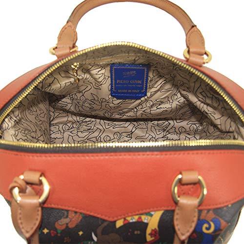inserti con piero guidi Circus bauletto borsa Magic in K8 216714088 marrone donna pelle colorata Plus rwXTXq4I