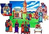 Daniel & The Lions Den- Childrens Bible in Felt- Flannelboard figures