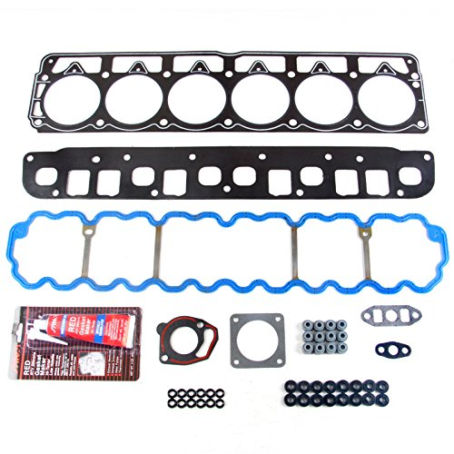 SCITOO Replacement for Head Gasket Set fits Jeep Cherokee Grand Cherokee Jeep Wrangler 4.0L 1996-1998 VIN S HS9076PT-3 Engine Head Gaskets Kit Sets